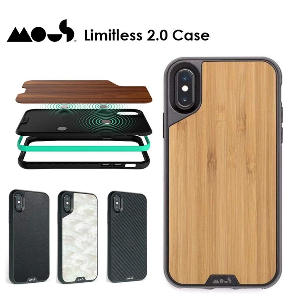 MOUS Limitless 2.0 AIROSHOCK Protective CASE for iPhone XS MAX