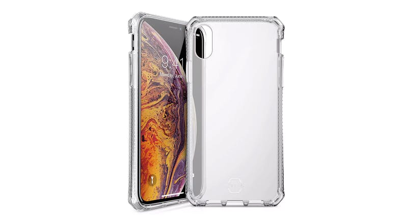 ITSKINS Spectrum Case for iPhone XS Max – Clear