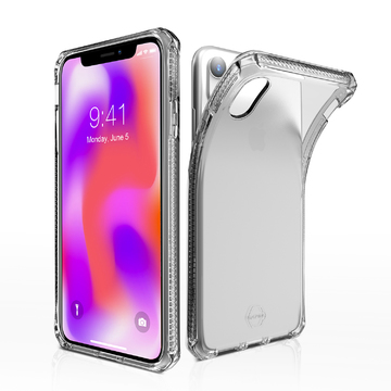 ITSKINS Spectrum Case for iPhone XR – Clear