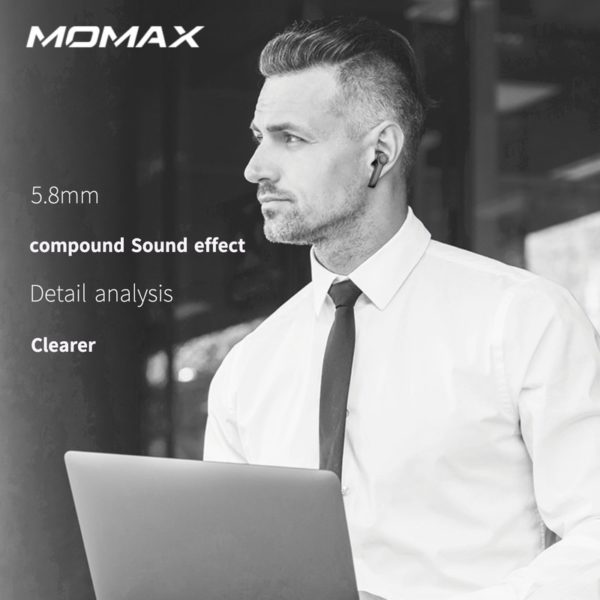 Momax SPARK WS Wireless Headphones Earphones sport Earbuds Headset