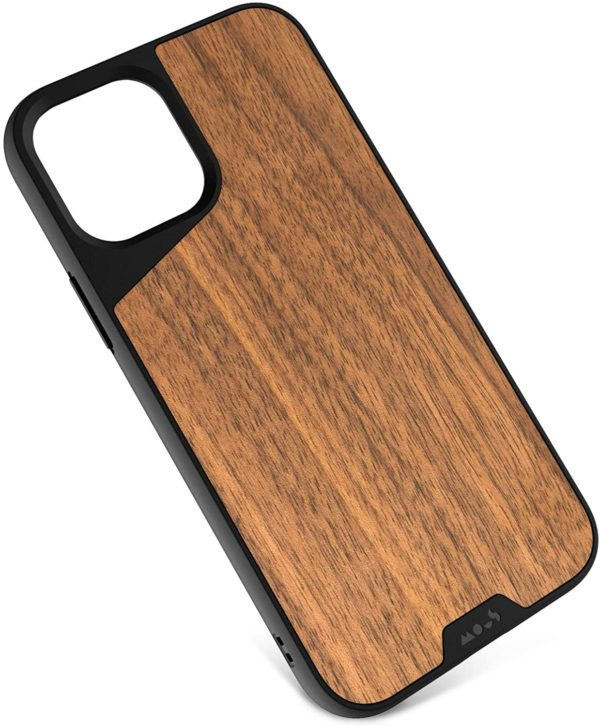 Mous - Protective Case for iPhone 12/12 Pro - Limitless 3.0 - Bamboo - No Screen Protector